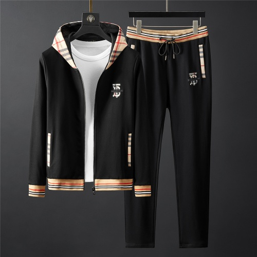 Burberry Tracksuits Long Sleeved Zipper For Men #796834