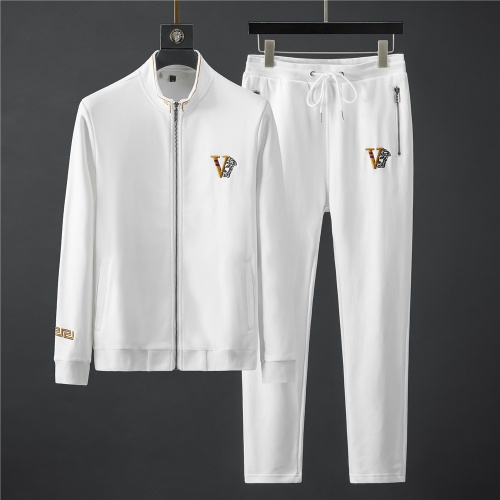 Versace Tracksuits Long Sleeved Zipper For Men #796836