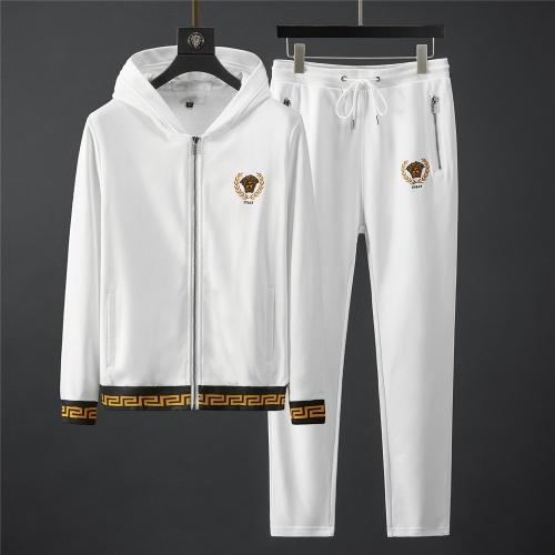 Versace Tracksuits Long Sleeved Zipper For Men #796838