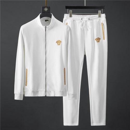 Versace Tracksuits Long Sleeved Zipper For Men #796840