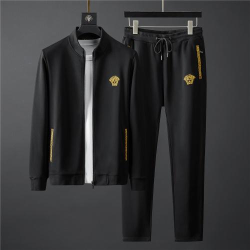 Versace Tracksuits Long Sleeved Zipper For Men #796841