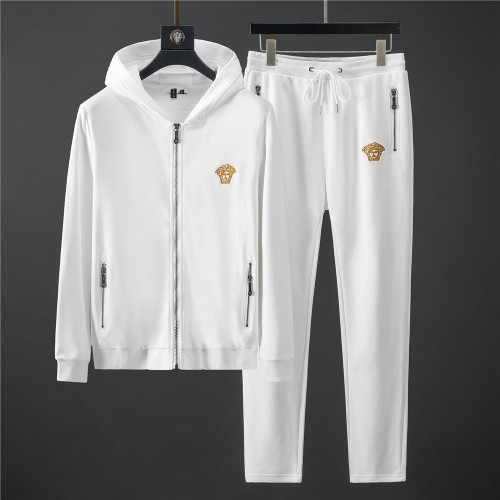 Versace Tracksuits Long Sleeved Zipper For Men #796842