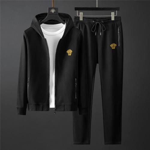 Versace Tracksuits Long Sleeved Zipper For Men #796843