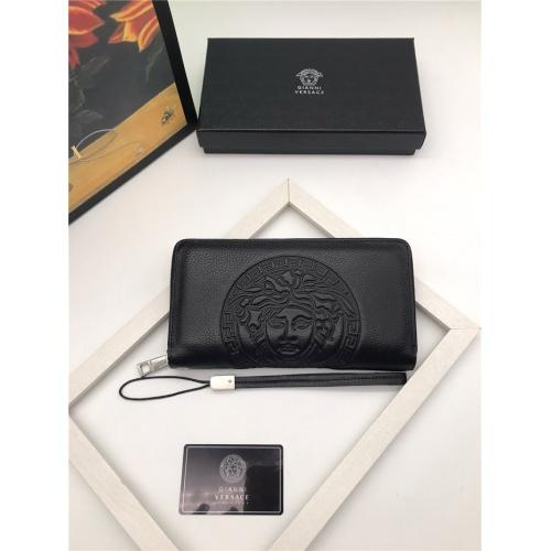 Versace AAA Man Wallets #797281