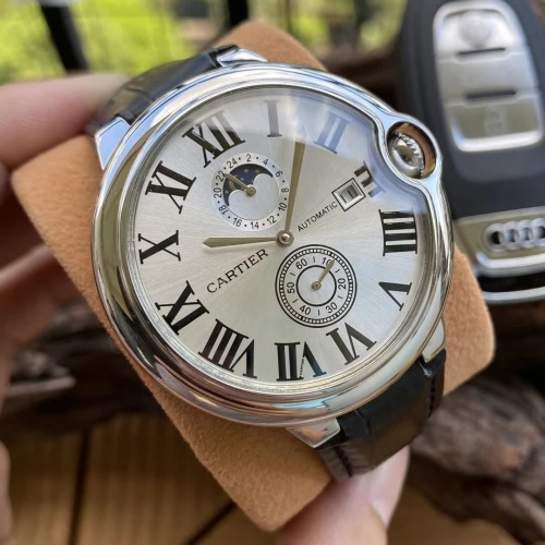 Cartier AAA Quality Watches For Men #797286 $176.54 USD, Wholesale Replica Cartier AAA Quality Watches