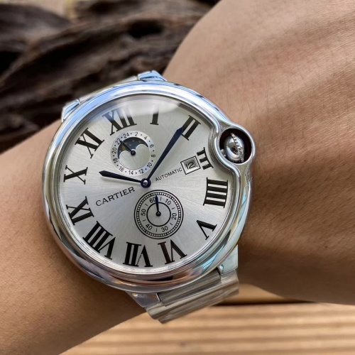 Replica Cartier AAA Quality Watches For Men #797299 $186.24 USD for Wholesale