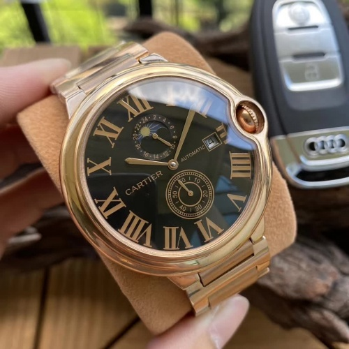 Cartier AAA Quality Watches For Men #797301 $186.24, Wholesale Replica Cartier AAA Quality Watches