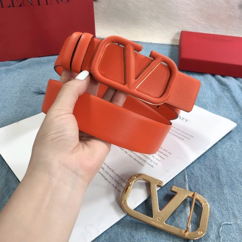 Replica Valentino AAA Quality Belts #797308 $73.72 USD for Wholesale