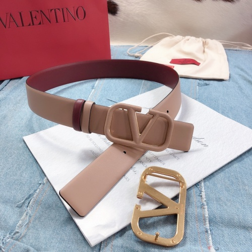 Replica Valentino AAA Quality Belts #797330 $73.72 USD for Wholesale