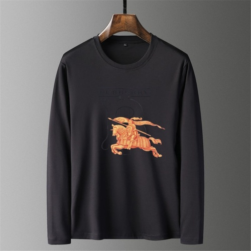 Burberry T-Shirts Long Sleeved O-Neck For Men #797401
