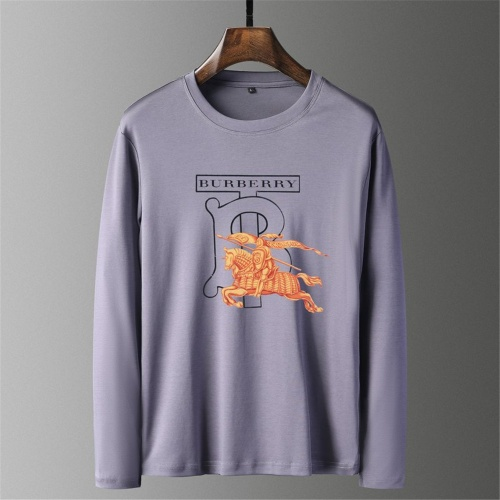 Burberry T-Shirts Long Sleeved O-Neck For Men #797402