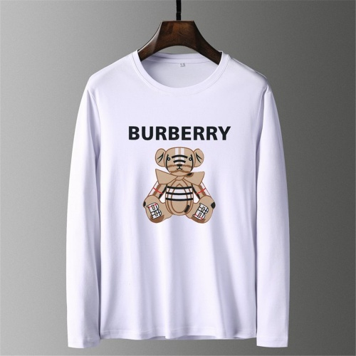 Burberry T-Shirts Long Sleeved O-Neck For Men #797403