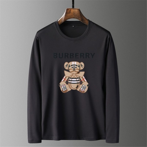 Burberry T-Shirts Long Sleeved O-Neck For Men #797404