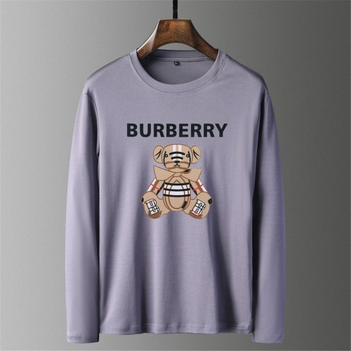 Burberry T-Shirts Long Sleeved O-Neck For Men #797405