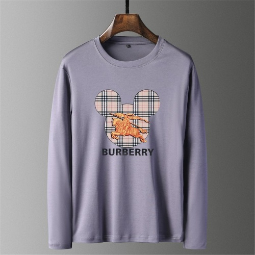 Burberry T-Shirts Long Sleeved O-Neck For Men #797408
