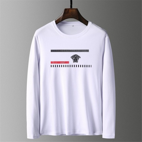 Versace T-Shirts Long Sleeved O-Neck For Men #797415 $39.77 USD, Wholesale Replica Versace T-Shirts