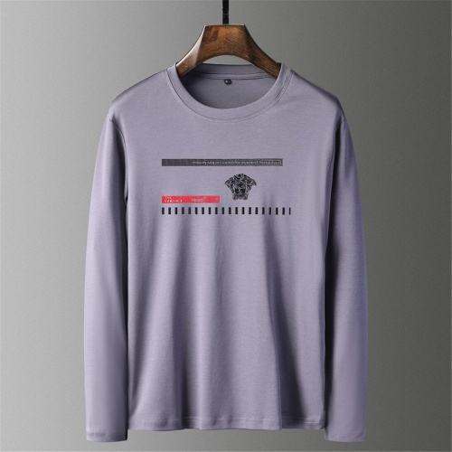 Versace T-Shirts Long Sleeved O-Neck For Men #797417