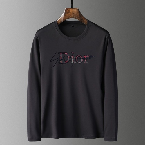 Christian Dior T-Shirts Long Sleeved O-Neck For Men #797499