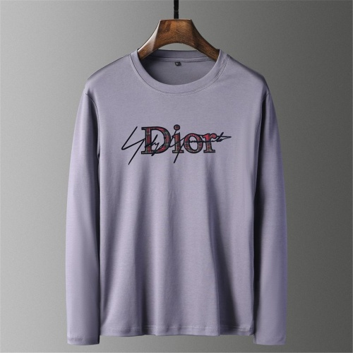 Christian Dior T-Shirts Long Sleeved O-Neck For Men #797500