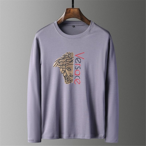 Versace T-Shirts Long Sleeved O-Neck For Men #797503