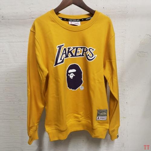 Bape Hoodies Long Sleeved O-Neck For Men #797526 $39.77 USD, Wholesale Replica Bape Hoodies
