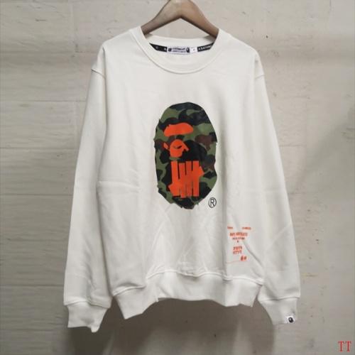 Bape Hoodies Long Sleeved O-Neck For Men #797528 $39.77 USD, Wholesale Replica Bape Hoodies