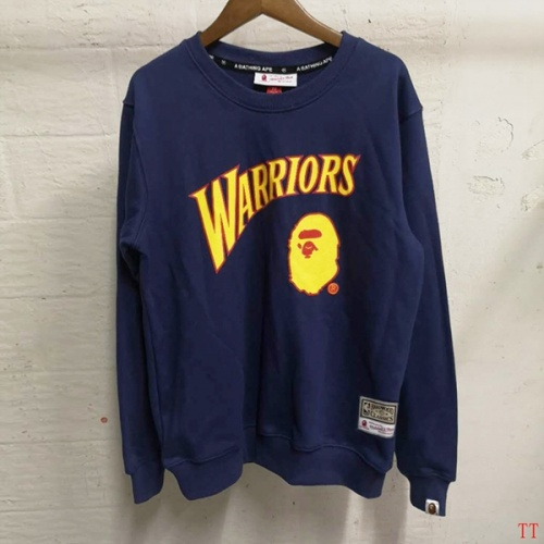 Bape Hoodies Long Sleeved O-Neck For Men #797529 $39.77 USD, Wholesale Replica Bape Hoodies