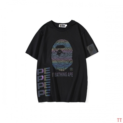 Replica Bape T-Shirts Short Sleeved O-Neck For Men #797531 $26.19 USD for Wholesale