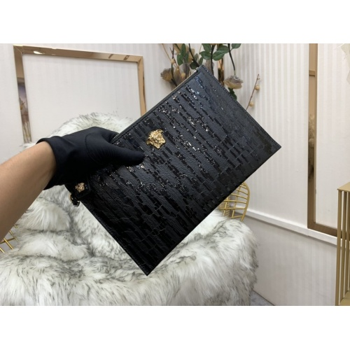 Replica Versace AAA Man Wallets #797622 $75.66 USD for Wholesale