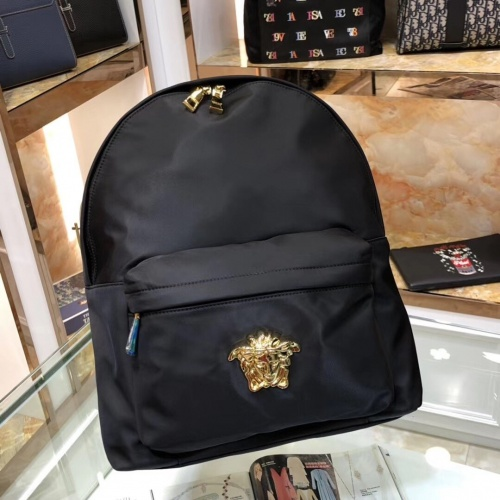 Versace AAA Man Backpacks #797626