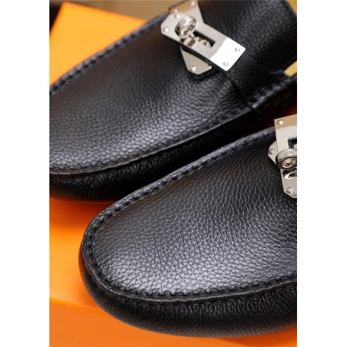 Replica Hermes Casual Shoes For Men #797800 $65.96 USD for Wholesale