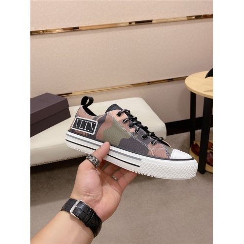 Valentino Casual Shoes For Men #797843 $82.45 USD, Wholesale Replica Valentino Casual Shoes