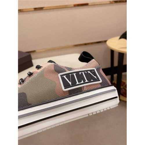 Replica Valentino Casual Shoes For Men #797843 $82.45 USD for Wholesale
