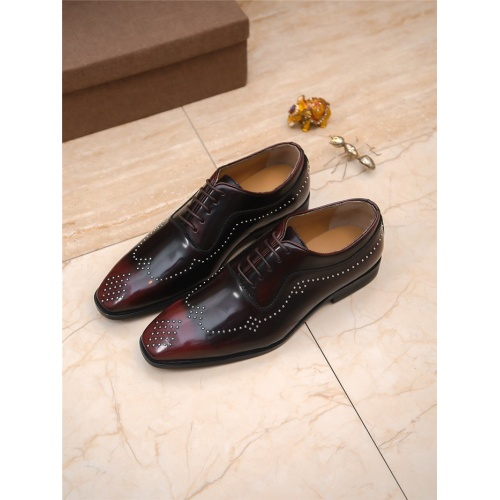 Armani Leather Shoes For Men #797845