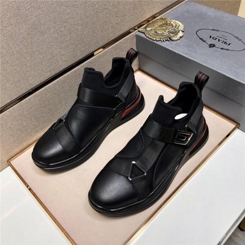 Prada Casual Shoes For Men #797880 $79.54 USD, Wholesale Replica Prada Casual Shoes