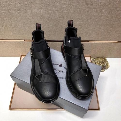 Replica Prada Casual Shoes For Men #797880 $79.54 USD for Wholesale