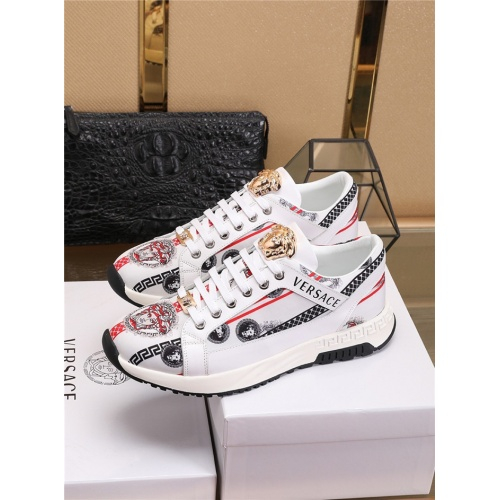 Replica Versace Casual Shoes For Men #798080 $73.72 USD for Wholesale
