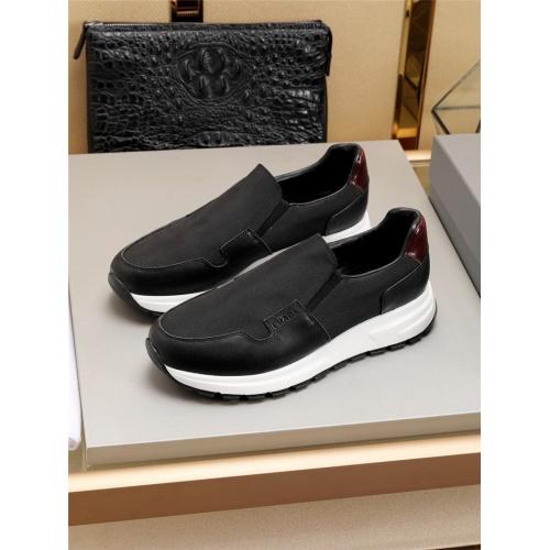 Prada Casual Shoes For Men #798093 $77.60, Wholesale Replica Prada Casual Shoes