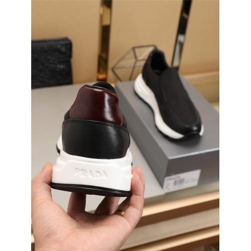 Replica Prada Casual Shoes For Men #798093 $77.60 USD for Wholesale