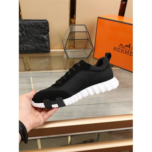 Replica Hermes Casual Shoes For Men #798141 $85.36 USD for Wholesale