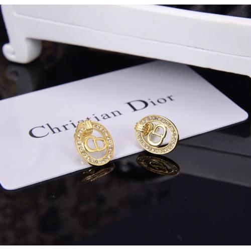 Christian Dior Earrings #798195 $26.19, Wholesale Replica Christian Dior Earrings