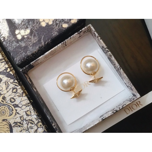 Christian Dior Earrings #798212 $28.13 USD, Wholesale Replica Christian Dior Earrings