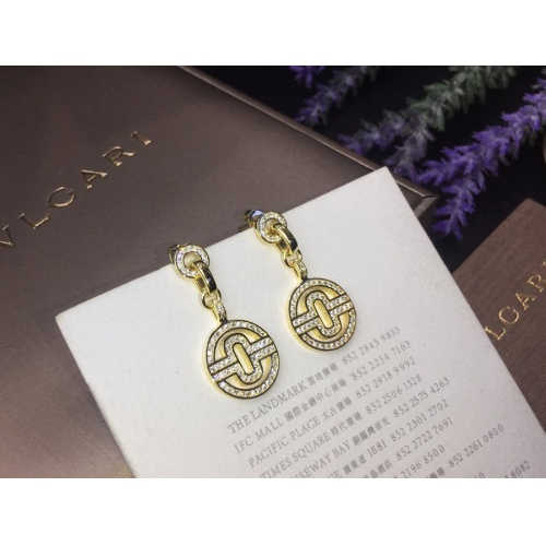 Bvlgari Earrings #798241 $32.98, Wholesale Replica Bvlgari Earrings