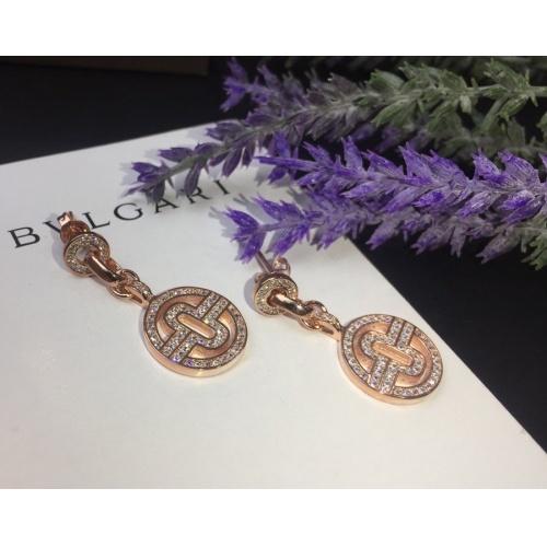 Bvlgari Earrings #798243 $32.98, Wholesale Replica Bvlgari Earrings