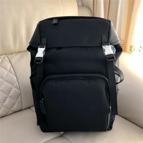 Prada AAA Man Backpacks #798430