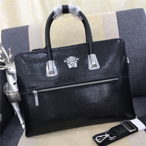 Versace AAA Man Handbags #798448