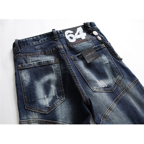 Replica Dsquared Jeans Trousers For Men #798458 $46.56 USD for Wholesale