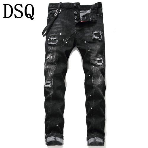 Dsquared Jeans Trousers For Men #798463 $46.56 USD, Wholesale Replica Dsquared Jeans