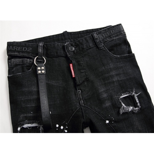 Replica Dsquared Jeans Trousers For Men #798463 $46.56 USD for Wholesale