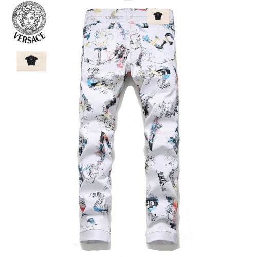 Replica Versace Jeans Trousers For Men #798474 $46.56 USD for Wholesale